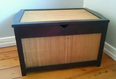 Timber Chest with bamboo cladding
