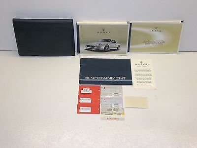2005 Maserati Gransport Owners Manual Set with Case