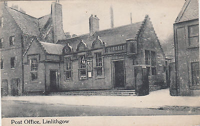 BR64681 post office linlithgow  scotland