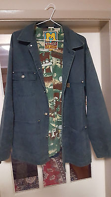 VINTAGE MAMBO LOUD DENIM JACKET SIZE S to L hard to find!!