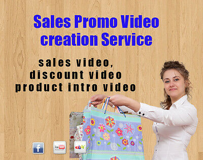 Turn your product video to a Sales Promo Discount Video services