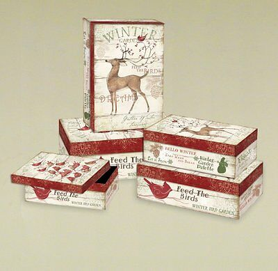 Lang  Winter Pallet Bobs Boxes by Susan Winget, 5 Boxes4020010
