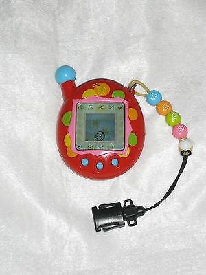 Red Tamagotchi Connection Version 4, Good Condition (2006)