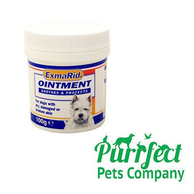 Exmarid Ointment 100g Dog Skin Cream Abrasions, Wounds, Dry Damaged, OUT STOCK