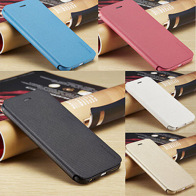 Sevendays Genuine PU Leather SLIM Flip Case Wallet Cover for Apple iPhone Models
