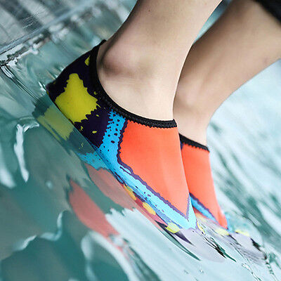 Skin Shoes Aqua Swimming Water Sports Trainers Sandals Footwear Blue Asian 44