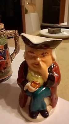 Vintage Burlington Ware Toby Jug Nearly 4 Inches High