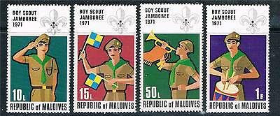 Maldive Is 1972 Scout Jamboree SG 412/5 MNH