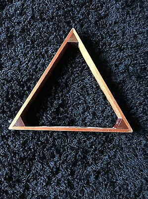Vintage Snooker Triangle