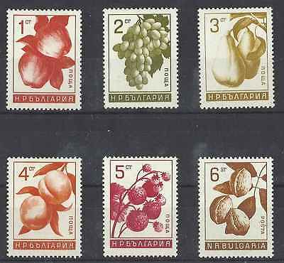 Timbres Flore Fruits Bulgarie 1364/9 ** lot 2521