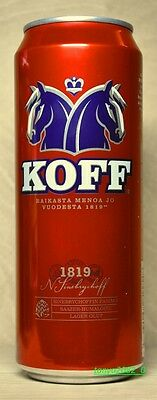 Koff beer can 500 ml from Russia 2016