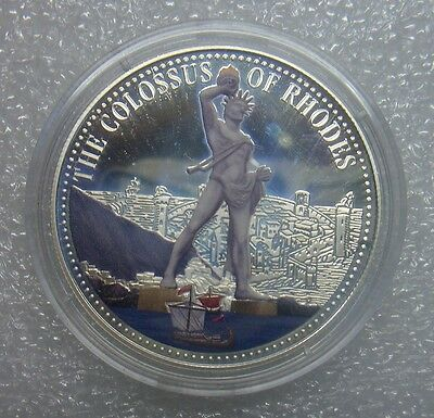 Qp Silver Coin .925, 2 Dollars, Solomon Islands, 2014, Colored