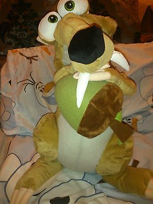 "Large 22"" Ice Age 4 Continental Drift Scrat Plush Soft Toy"