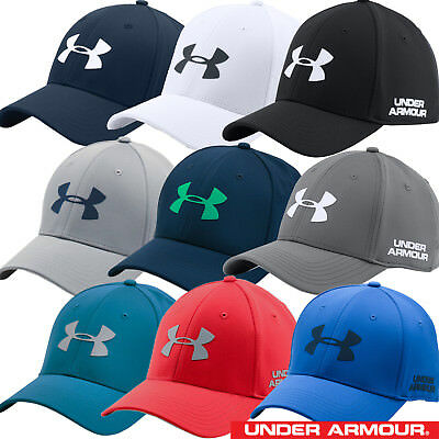 Under Armour 2017 Mens UA Headline Stretch Fit Cap Golf Hat - 1273282