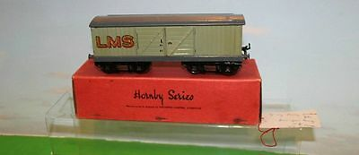 Hornby Series O Gauge No 2 Luggage Wagon Rs667 Boxed Ex Con Rs667