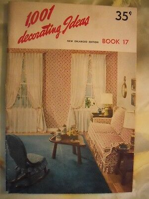 "1001 Decorating Ideas 1960 by Consolidated Trimming Corp.""Conso Upholstery"""