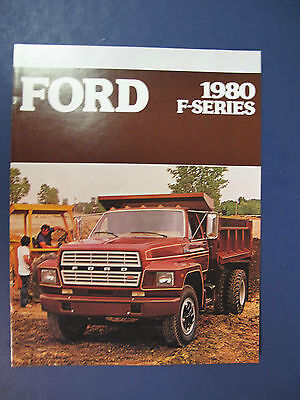 1980 Ford F-Series Trucks Sales Brochure D6025