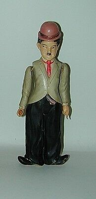 "Charlie Chaplin Celluloid Figure 10"" Tall 1930s Japan Another Big One & RARE"