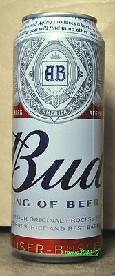 Bud beer can limited edition 500 ml from Russia 2016