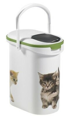 Brand New Petlife 4kg Dry Food Container CAT