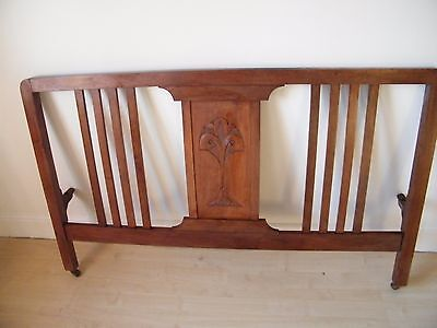 Vintage 1940's Double Bed Ends with Side Irons