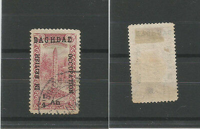 In British Occupation of Baghdad/MESOPOTAMIA:  Used Sg1 sold 'AS IS'