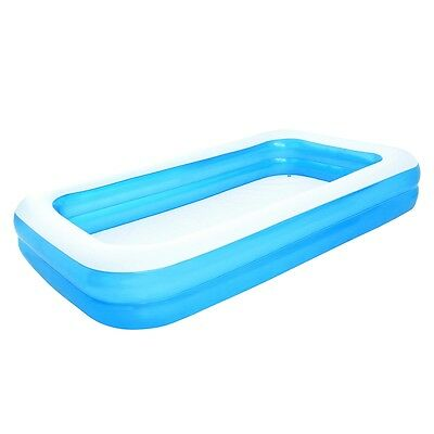 New Bestway Outdoor Inflatable Swimming Pool Blue/White 305 x 183 x 46 cm 54150