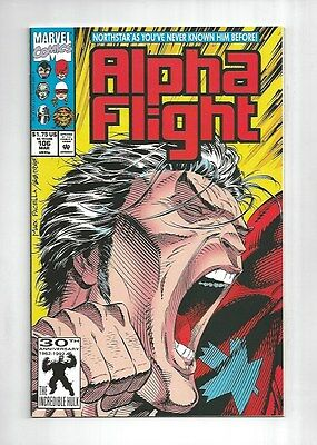 Alpha Flight #106  Northstar Gay Comes Out LGBT , 1st print, 9.2 NM-, Marvel
