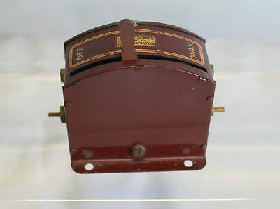 Hornby Series Resistance Controller Maroon 1930's 6 Volt