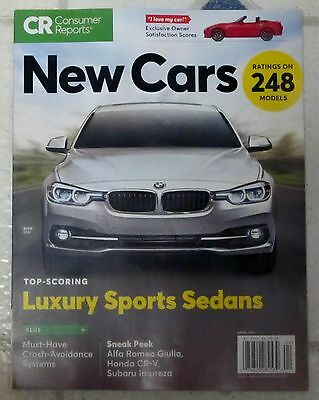 new consumer reports april 2018 the auto issue car reviews best worst picclick. Black Bedroom Furniture Sets. Home Design Ideas