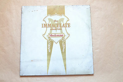 "The Inmaculate Collection Madonna 1990  12""vinilo Lp Spanish Ed.  Vinyl"