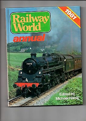 Model Railway Book(s) Reference book / Railway World 1981 Annual