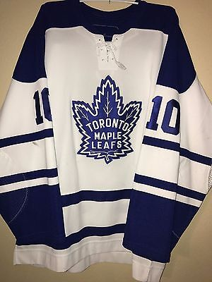 Game Worn/Used Alexander STEEN Toronto Maple Leafs Alternate Jersey Blues