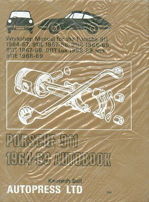 Porsche 911 911L 911S 911T 911E 1964 - 1969 Owners Workshop Manual New Old Stock