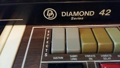 Vintage Diamond Electric Organ From Lichfield Organs