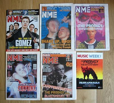 PRODIGY NME Magazine Rare Collection Record Collector Music Week Experience