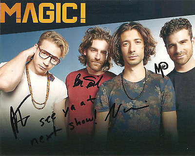 Magic! Signed 8X10 Photo Proof Coa Autographed Rude Don't Kill The Magic Nasri