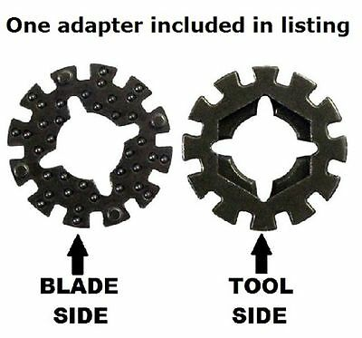 1 Arbor Adapter for Rockwell, Worx, Sonicrafter other Oscillating Multi Tools