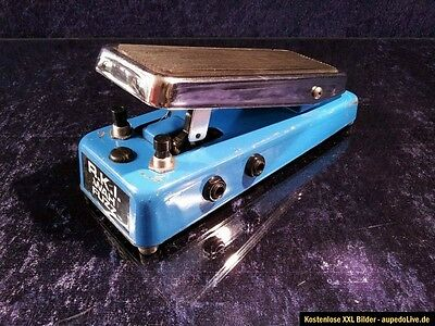 Vintage Rare 1977 Colorsound as R.K.I.Wah Fuzz Swell Pedal, good working