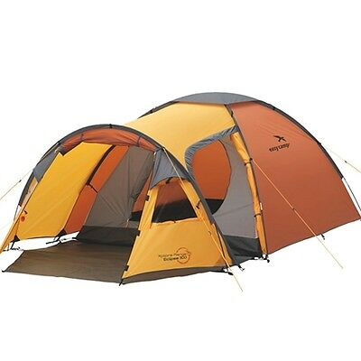 New Easy Camp Eclipse 300 Outdoor Travel Camping Tent for 3 Persons Waterproof