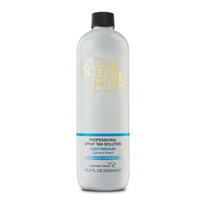 Bondi Sands Professional Spray Tanning Solution Tan Mist 500ml Light Medium