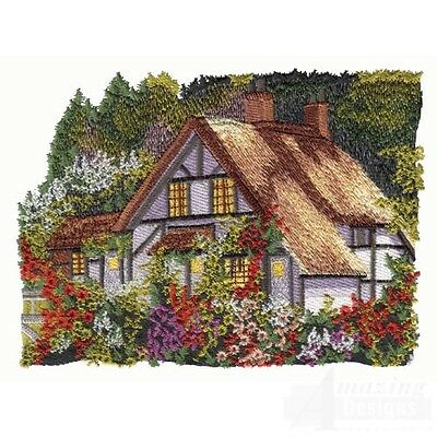 20 Cottage Designs for Machine Embroidery