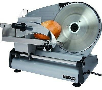Electric Meat Slicer Deli For Home Food Cooks Steel Cheese Cutter Machine Heavy