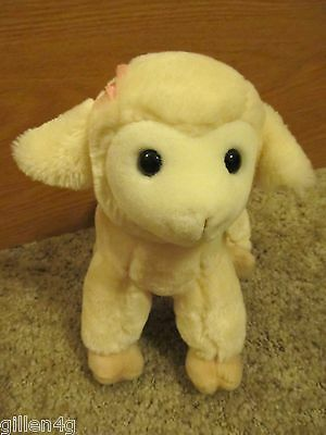 "Fao Schwarz 11"" Cream Lamb Sheep Soft Plush Toy So Soft Cute *ec*"