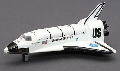 Vintage NASA US United States Discovery Shuttle Spacecraft Rocket Model Diecast