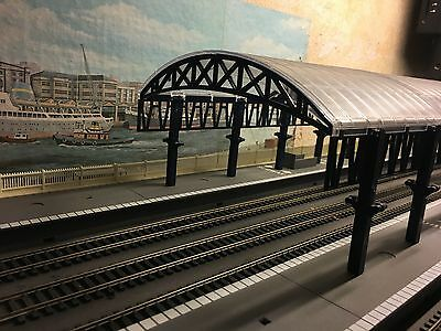 oo gouge hornby station cover-roof set of 8