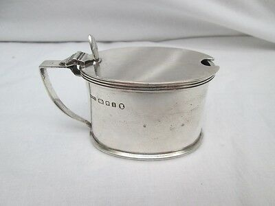 George V Silver Mustard Pot. London 1934.