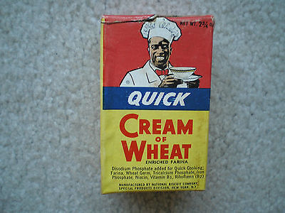 Cream of Wheat Sample Cereal Box 1948 Complete