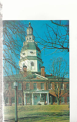 Colonial State House  Annapolis Maryland Chrome Postcard 1207