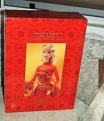 Holiday Porcelain Barbie Collection ~ Holiday Gift~ 1998~ MINTY Free Shipping